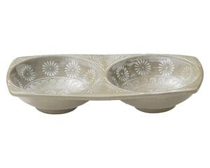 銀峯三島 薬味皿(2品)