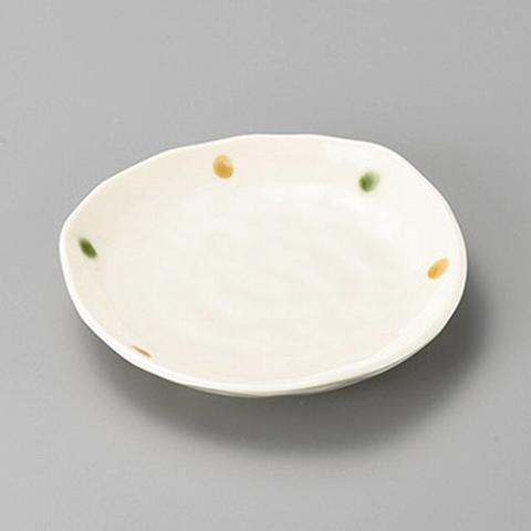 2色水玉三角4.0皿 画像