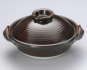 アメ釉7号深鍋