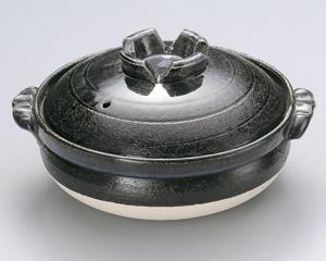 瑠璃釉10号深鍋