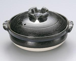 瑠璃釉6号深鍋