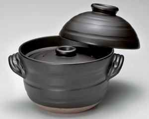 大黒ふっくらご飯鍋6合炊(中蓋付)