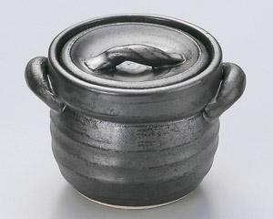 黒釉ご飯釜(1合炊)