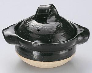 黒釉一人用御飯鍋