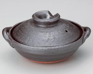 鉄釉5号鍋