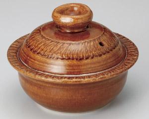 アメ釉(手造り)5号鍋