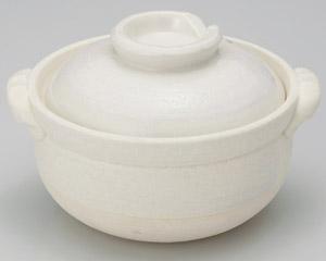 白刷毛目雑炊鍋