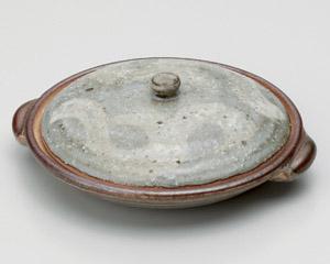 砂付緑釉柳川陶板