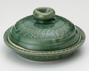 織部(手造り)7.5号丸鍋