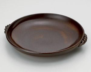 灰釉10号耐熱皿