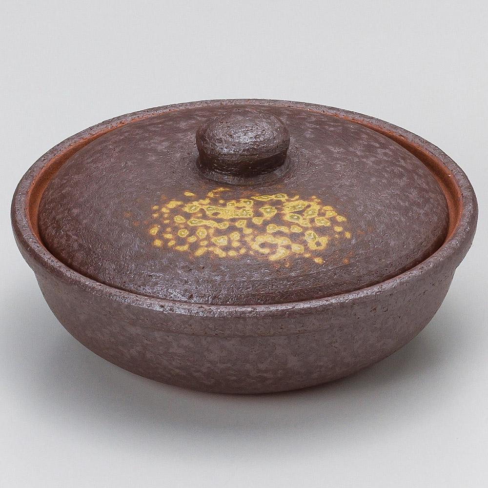 焼締5号平鍋 画像