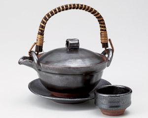 鉄結晶京型土瓶むし(超耐熱・手造り)