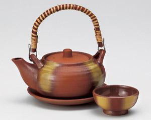 鉄彩丸型土瓶むし(耐熱)