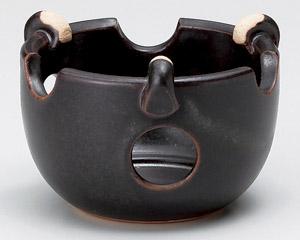 黒釉耐熱ミニコンロ