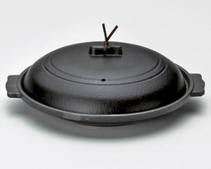丸陶板黒18cm(アルミ)M10−553