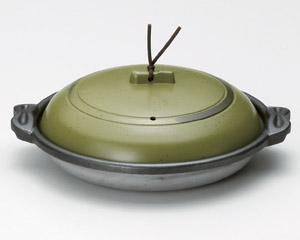 庵陶板うぐいす18深皿(アルミ)M10−571