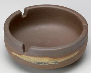 サビ鉄鉢三ッ切灰皿