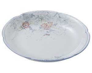 古染錦春日野 花型6.0皿