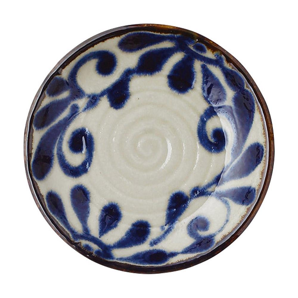 琉球るり唐草 5.0皿
