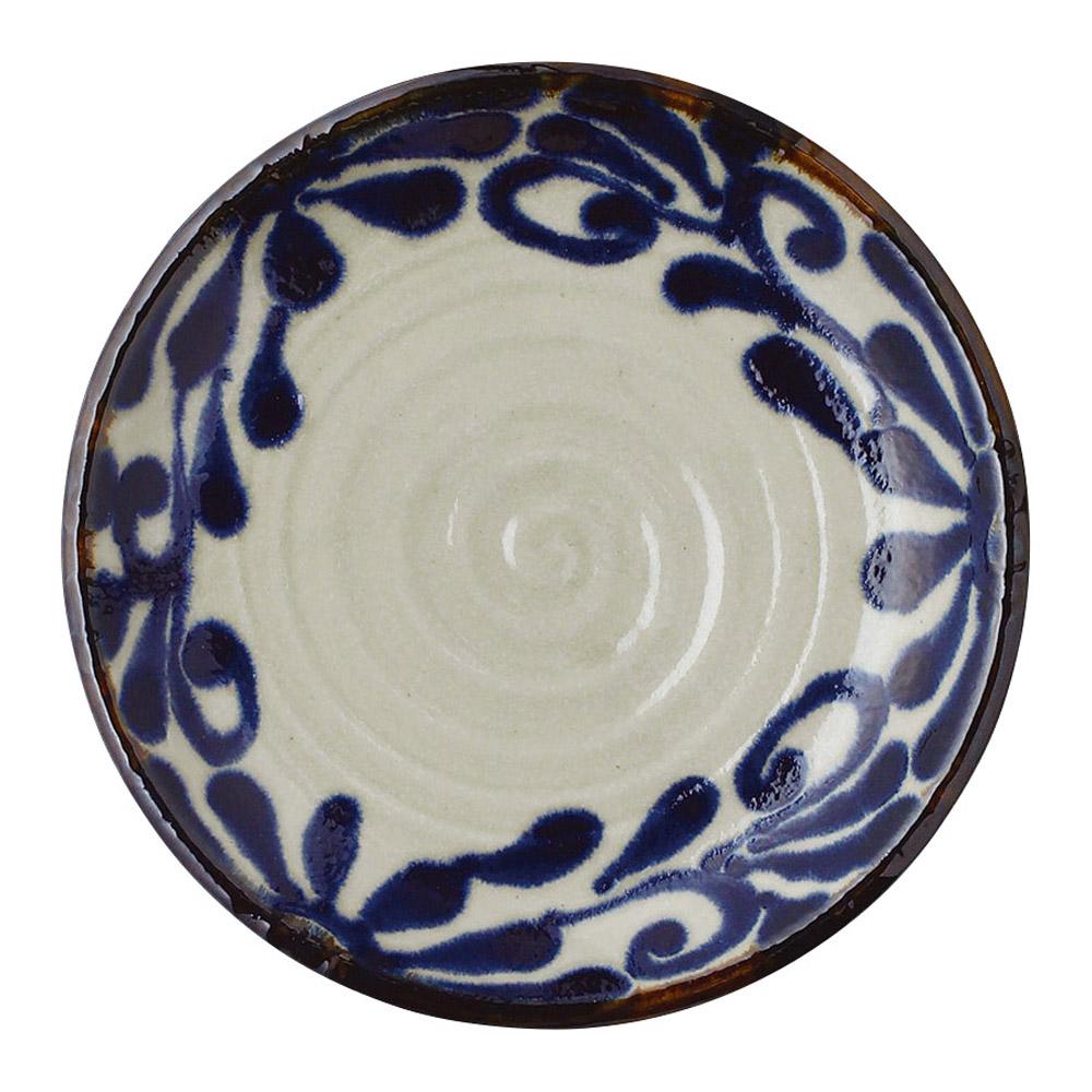 琉球るり唐草 7.0皿
