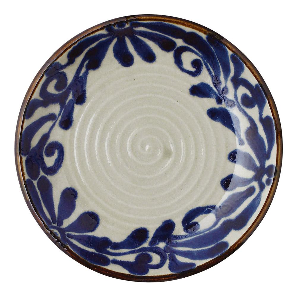 琉球るり唐草 9.0皿