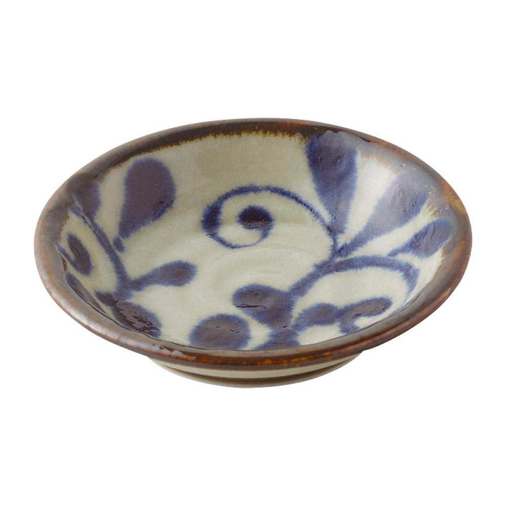 琉球るり唐草 3.0皿
