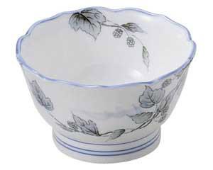清彩つた 桔梗型3.6小鉢