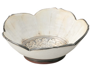三島手 桜鉢