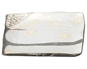 三島手 銘銘皿