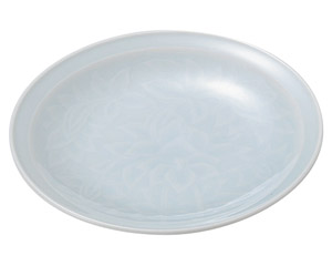 青白磁唐草 5.0皿