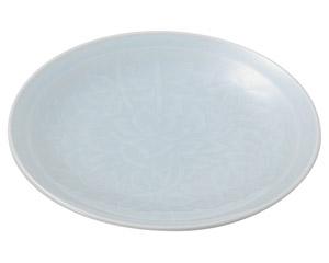 青白磁唐草 6.0皿