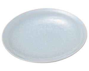 青白磁唐草 7.0皿