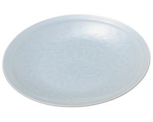 青白磁唐草 9.0皿