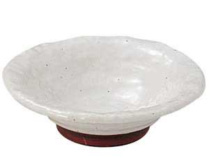 粉引石目 3.3鉢