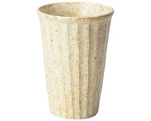 窯変志野 しのぎカップ