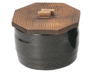 油滴天目飯器の木蓋のみ(フタのみ・本体は別売り)