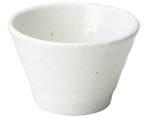 ゆらり 粉引きソバ千代口小鉢