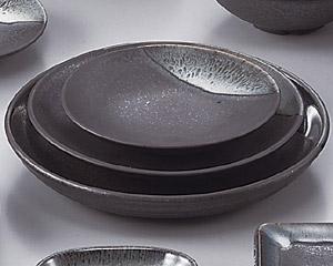 ブルー鉄釉丸4.0皿