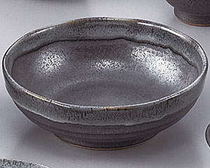 ブルー鉄釉4.5浅鉢