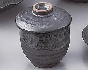 ブルー鉄釉むし碗(小)