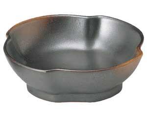 焼締 ねじり刺身鉢