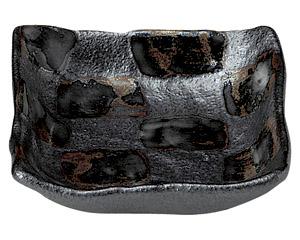 黒市松 正角小鉢