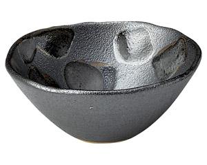黒市松 盛り鉢(小)