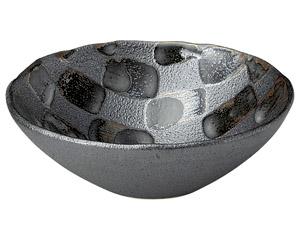 黒市松 盛り鉢(中)