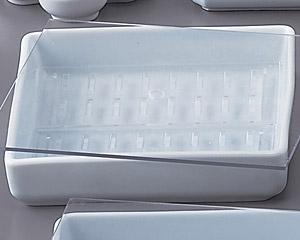 青白磁ネタケース(特大)サナ付 画像1