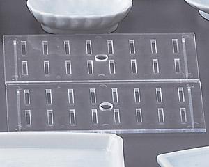 青白磁ネタケース、サナ(特大用)2枚組