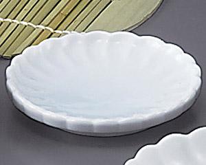 青白磁菊割3.0皿