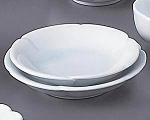 青白磁手造風4.0皿