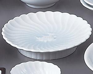 青白磁高台皿