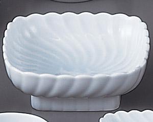 青白磁角刺身鉢